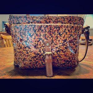 Patricia Nash Floral Print Leather Handbag